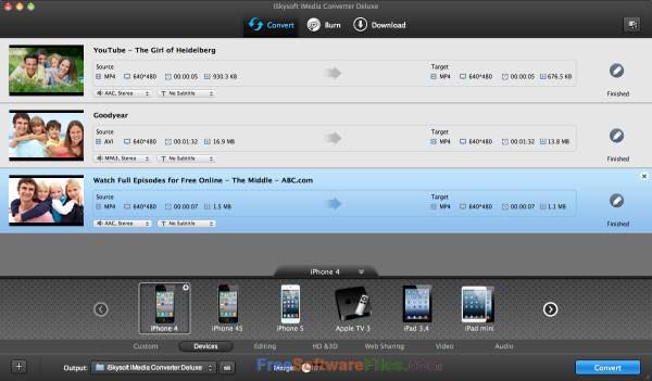 iSkysoft iMedia Converter Deluxe 10.2 Offline Installer Download