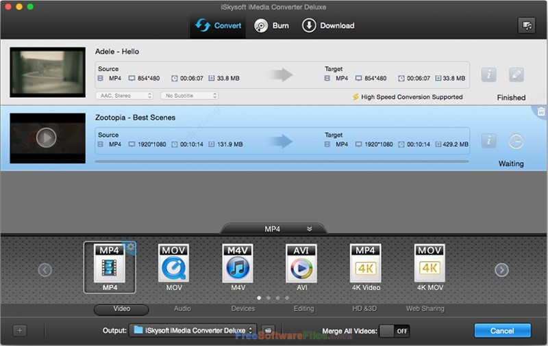 iSkysoft iMedia Converter Deluxe 10.2 free download full version