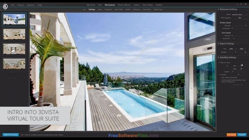 3DVista Virtual Tour Suite 2018 Offline Installer Download