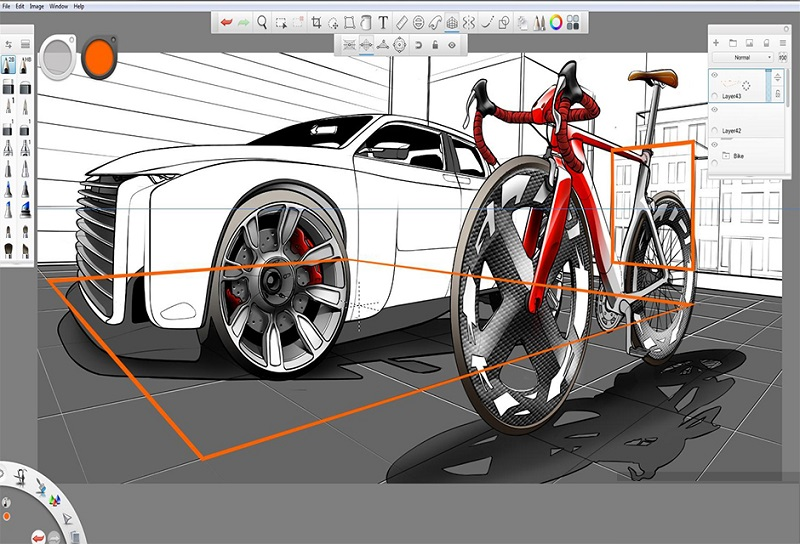 Autodesk SketchBook Enterprise 2019 Free download