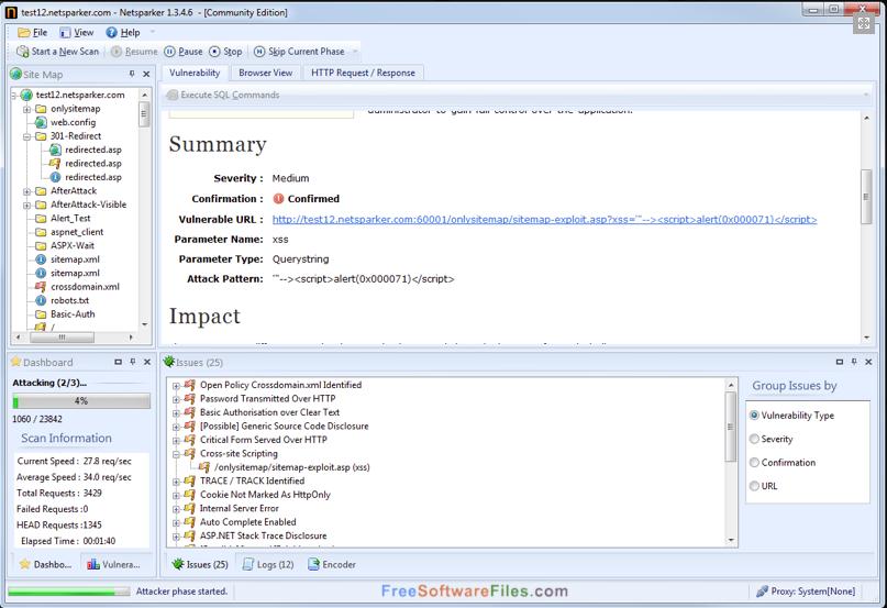 Netsparker Professional 4.8 Offline Installer Download