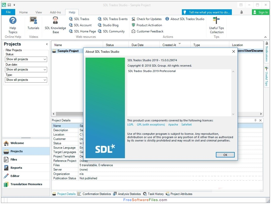 SDL Trados Studio 2019 free download full version