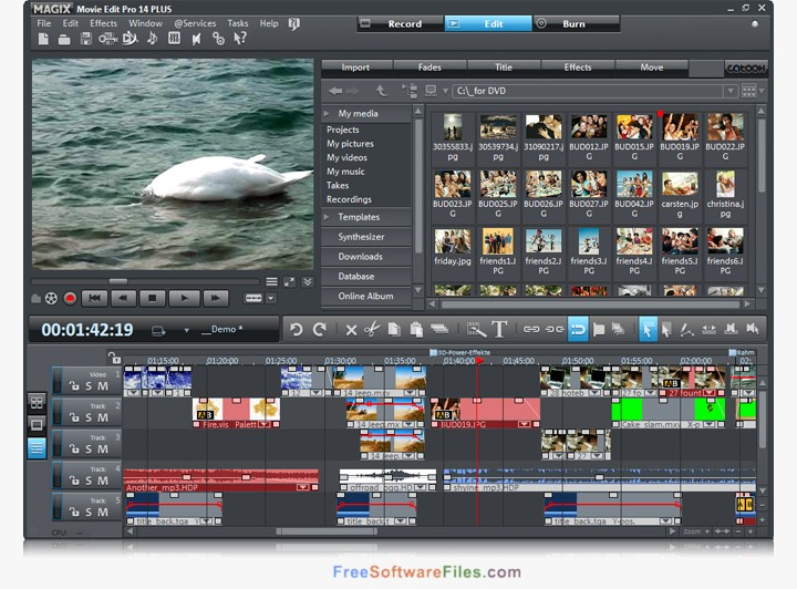MAGIX Movie Edit Pro Premium 2018 Offline Installer Download