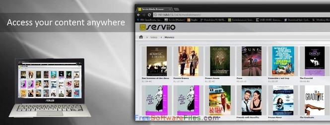 Serviio Pro 1.9 Free Download for Windows PC