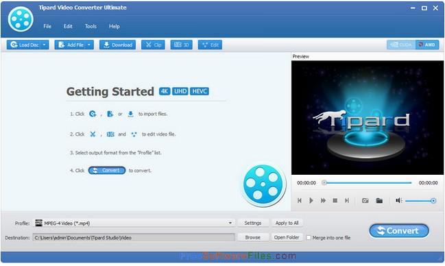 Tipard Video Converter 9.2 free download full version