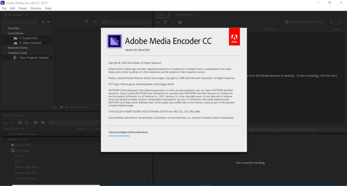 Adobe Media Encoder CC 2019 Offline Installer Download