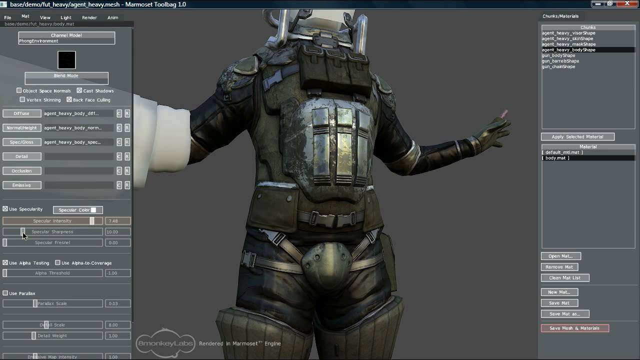 Marmoset Toolbag 3.0 Free Download for Windows PC