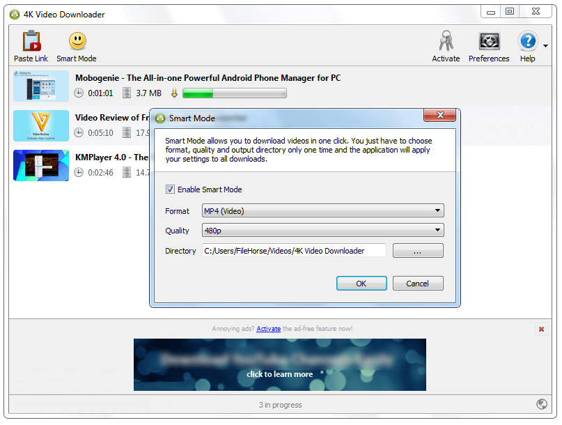 4K Video Downloader 4.4 Free Download for Windows PC