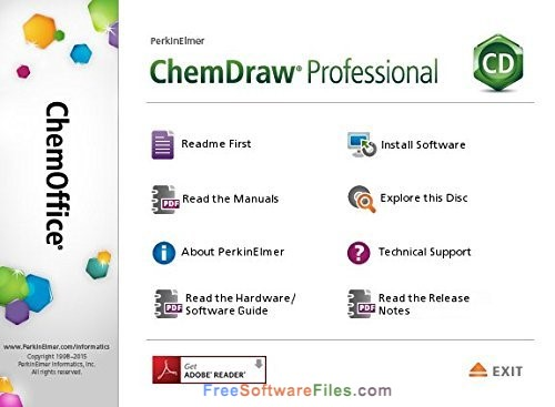 ChemOffice Professional Suite 17.1 Free Download for Windows PC