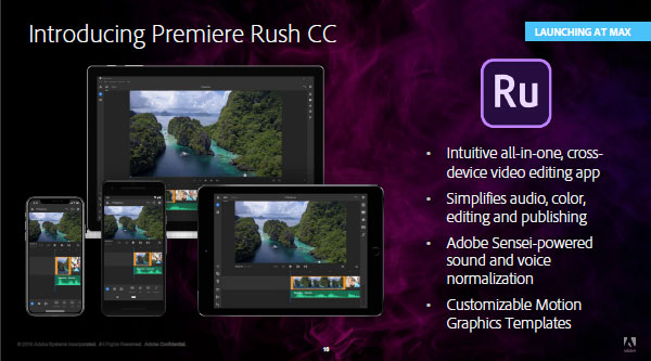 Adobe Premiere Rush CC 2019 Direct Link Download