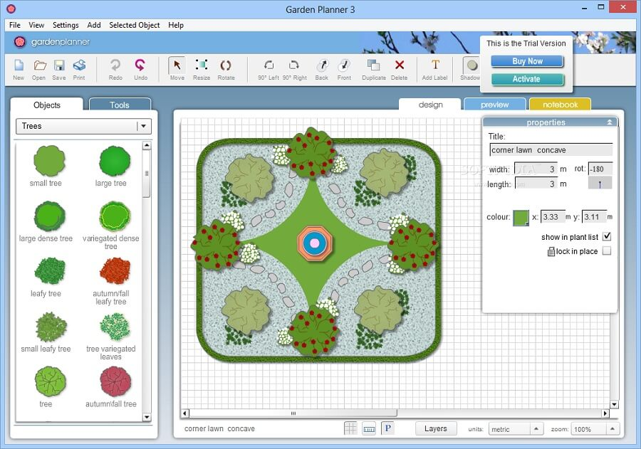 Artifact Interactive Garden Planner 3.7 Free Download for Windows PC