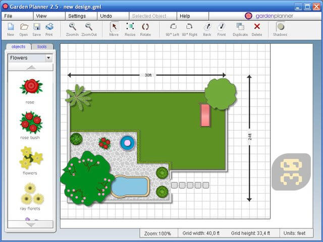 Image result for Artifact Interactive Garden Planner 3. icon