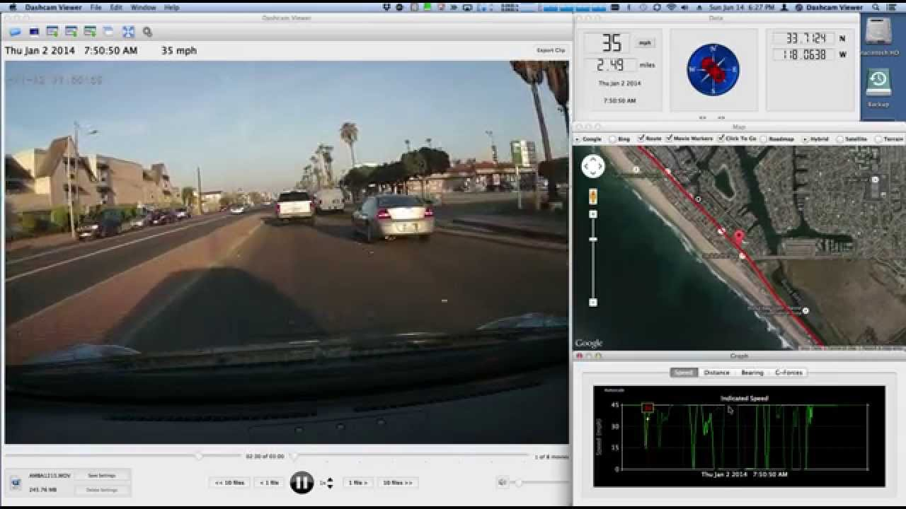 Dashcam Viewer 3.1 Free Download for Windows PC