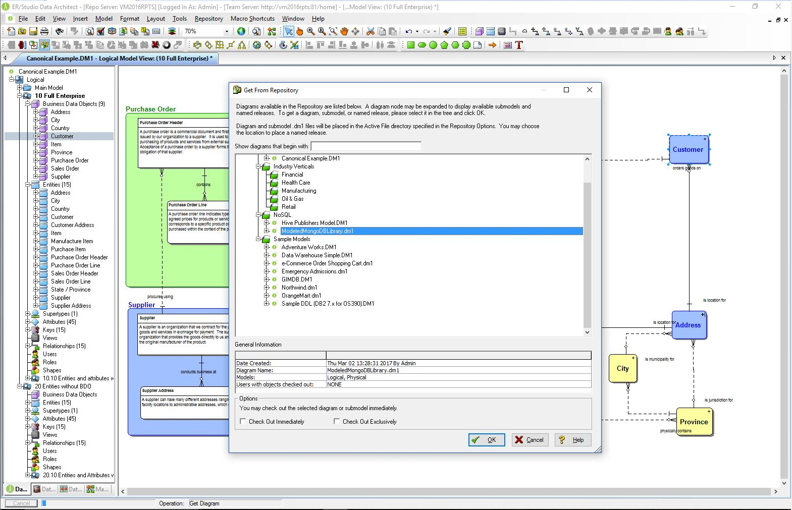 Download ER Studio Data Architect 17.1 Free