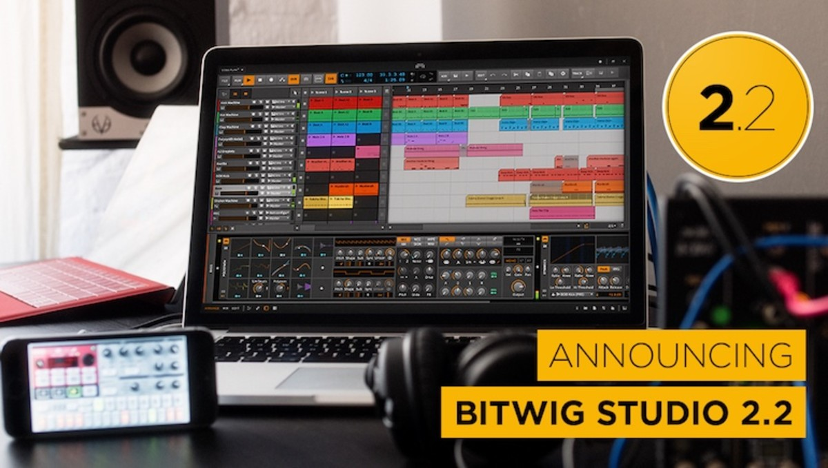 Download Free Bitwig Studio 2.2