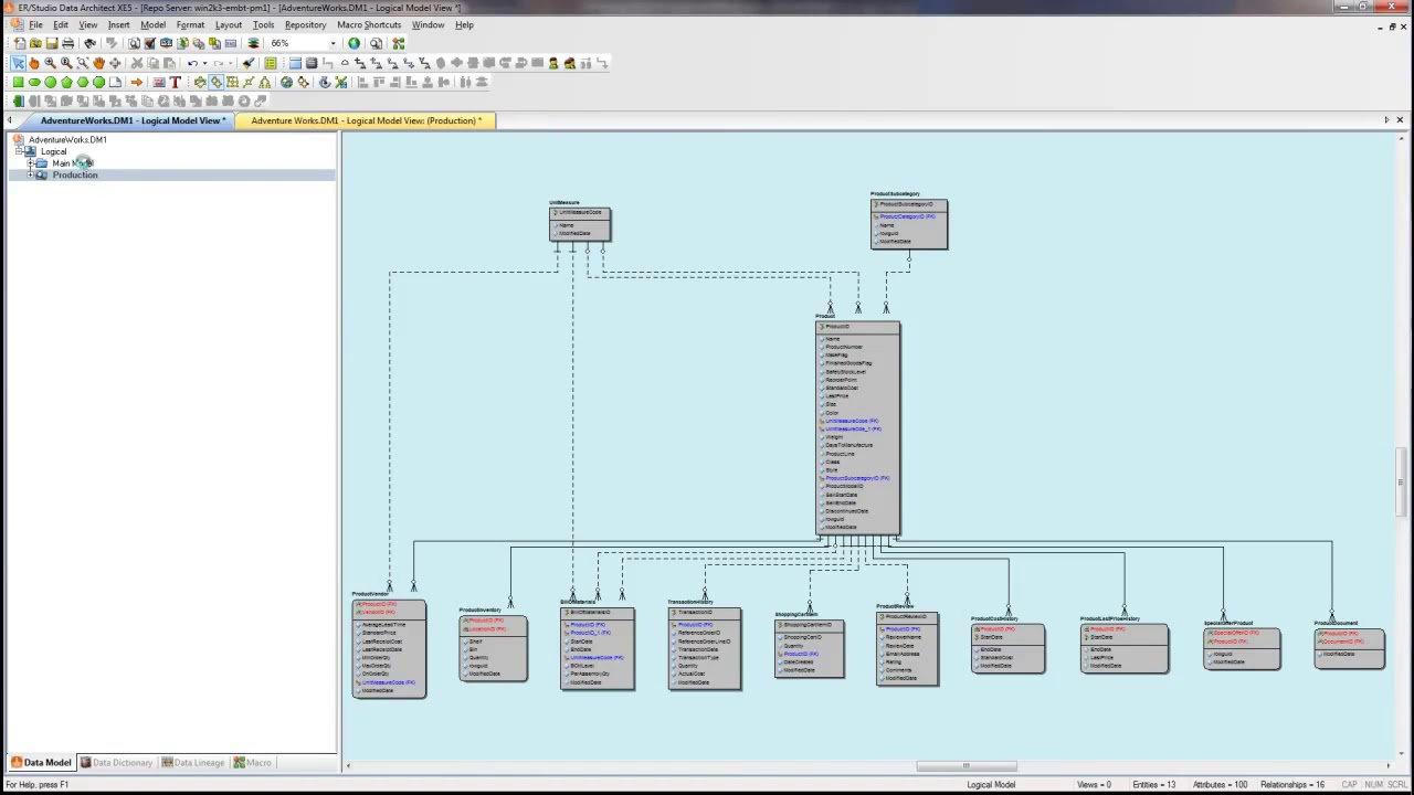 Download Free ER Studio Data Architect 17.1