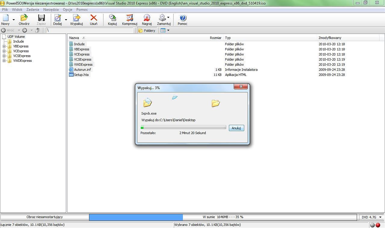 PowerISO 7.3 Free