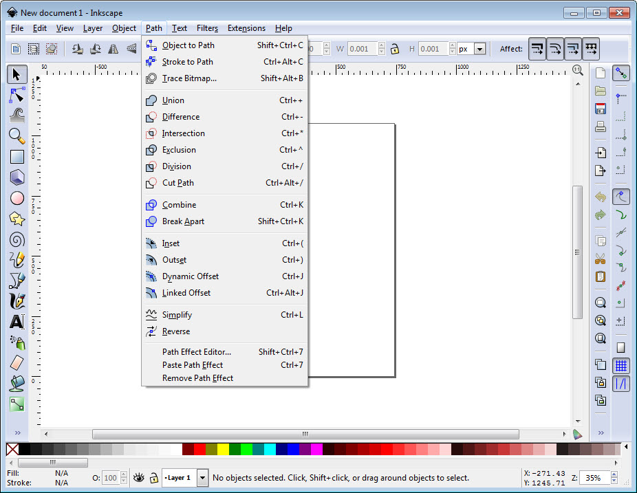 Inkscape Portable 0.92.4 Free