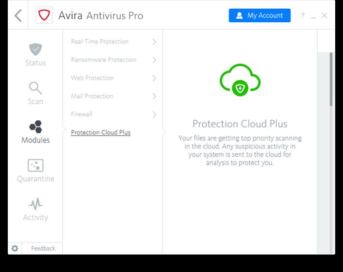 Free Avira Antivirus Pro 2018 v15.0