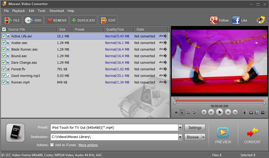 Movavi Video Converter 19.1 Premium Free Download for Windows PC