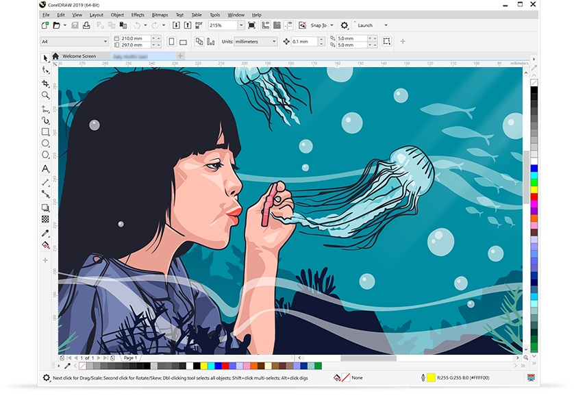 CorelDRAW Graphics Suite 2019 v21.1 Offline Installer Download