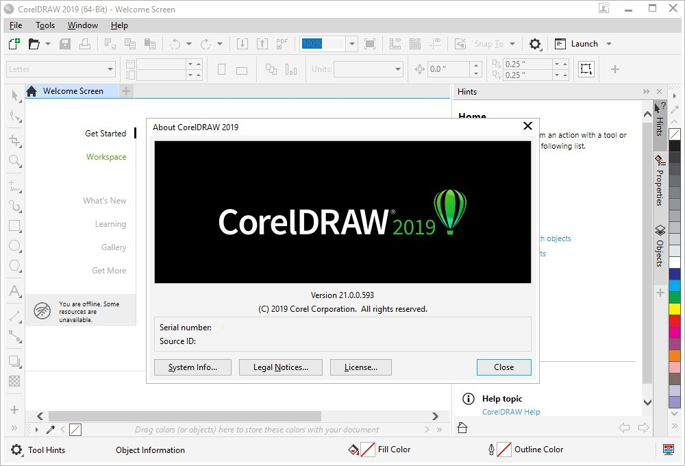 CorelDRAW Graphics Suite 2019 v21.1 free download full version