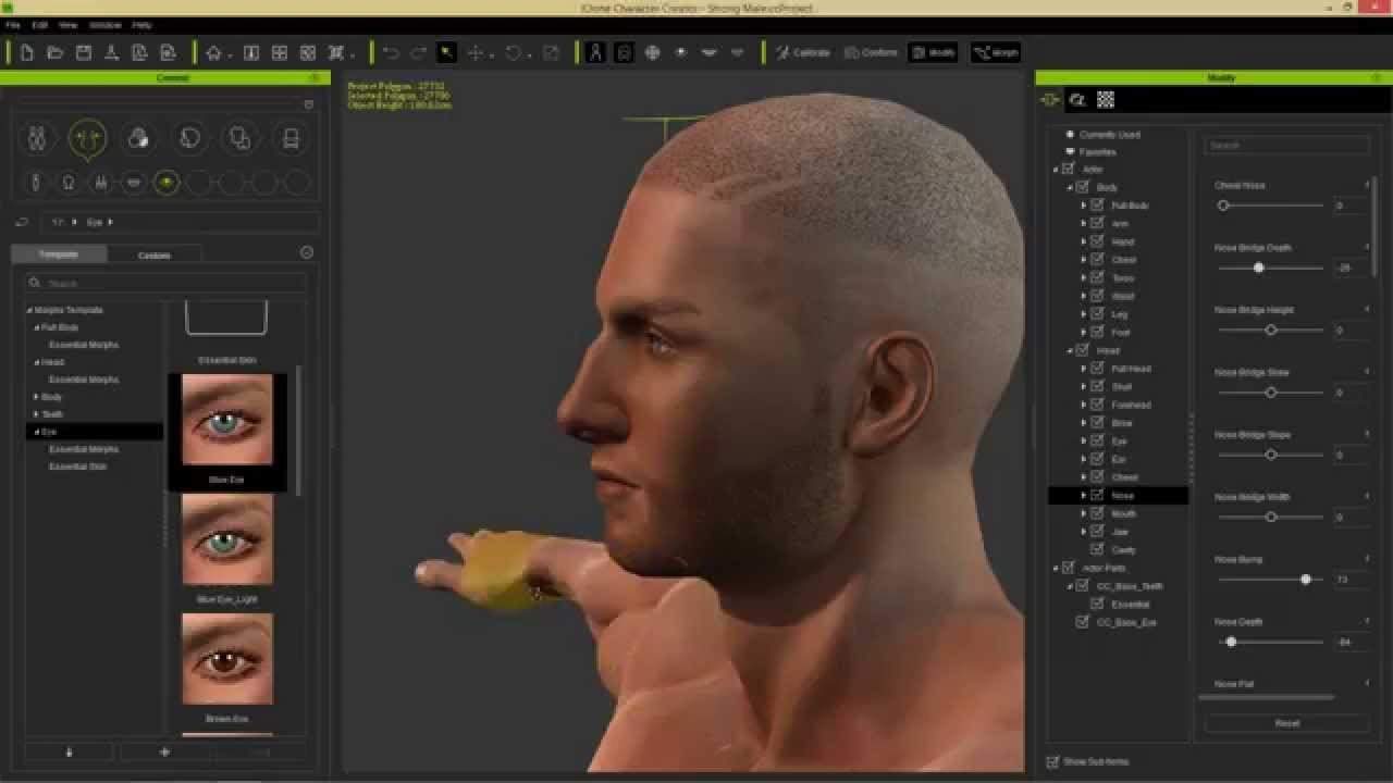 Download Free Reallusion iClone Character Creator 3 with Resource Pack