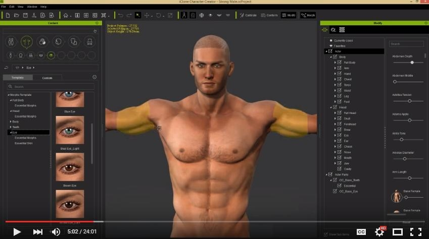 Free Reallusion iClone Character Creator 3 with Resource Pack