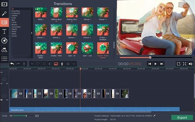Movavi Video Editor Plus 15.2 Free Download for Windows PC