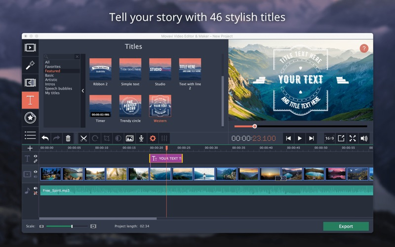 Movavi Video Editor Plus 15.2 free download full version