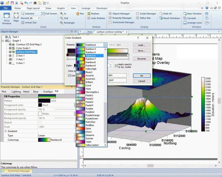 Golden Software Grapher 14.3 free download full version