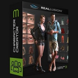 Reallusion iClone Character Creator 3 with Resource Pack Free Download