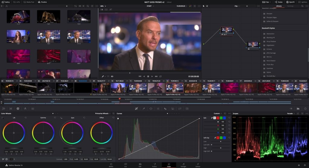 Offline Installer Download DaVinci Resolve Studio 16.0