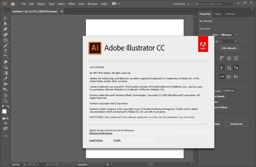 Adobe Illustrator CC 2019 v23.0.5O ffline Installer Download
