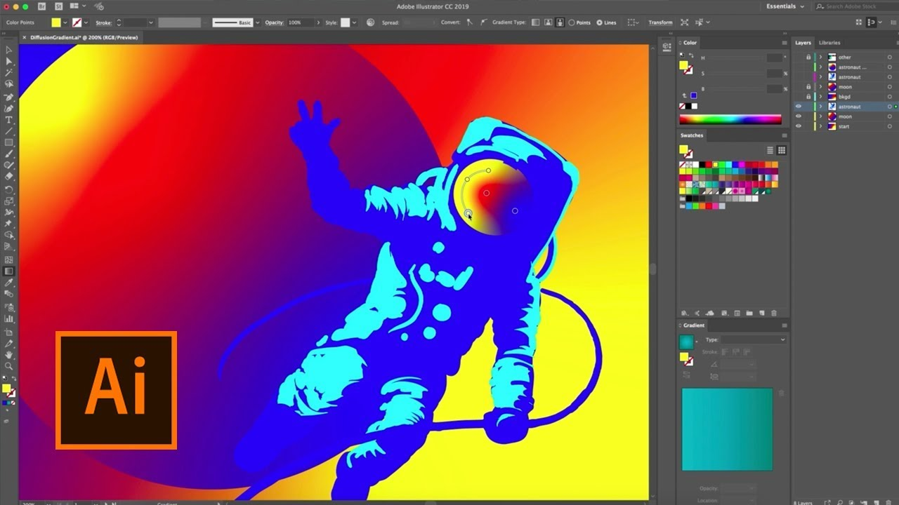 Free Download for Windows PC Adobe Illustrator CC 2019 v23.0.5