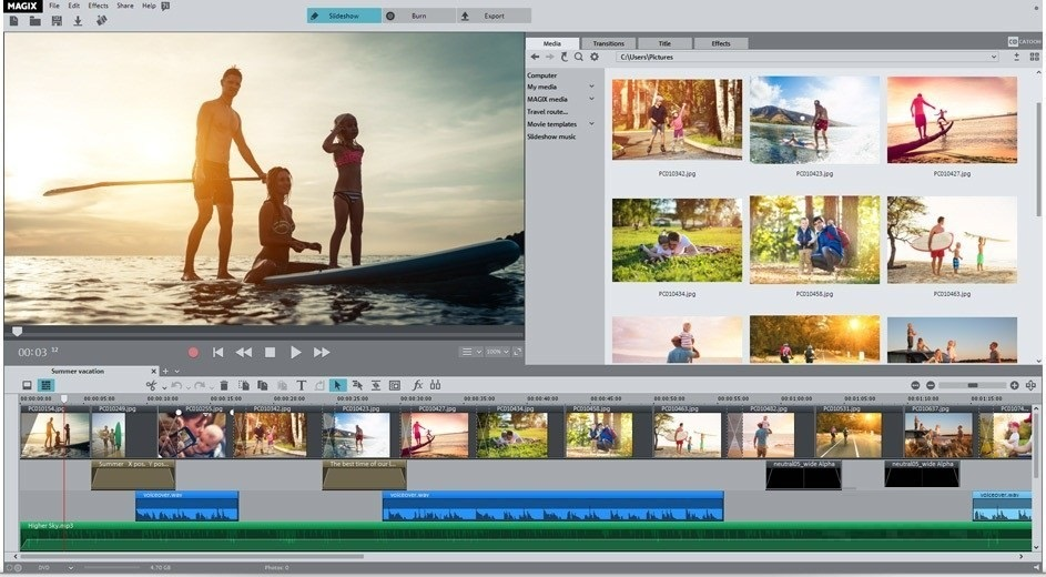 Offline Installer Download MAGIX Photostory 2020 Deluxe 19.0