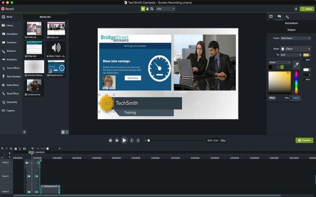 Offline Installer Download TechSmith Camtasia 2019