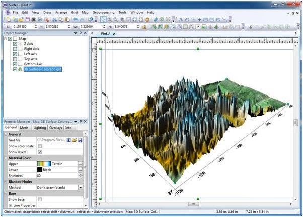 Direct Link Download Golden Software Surfer 16.6