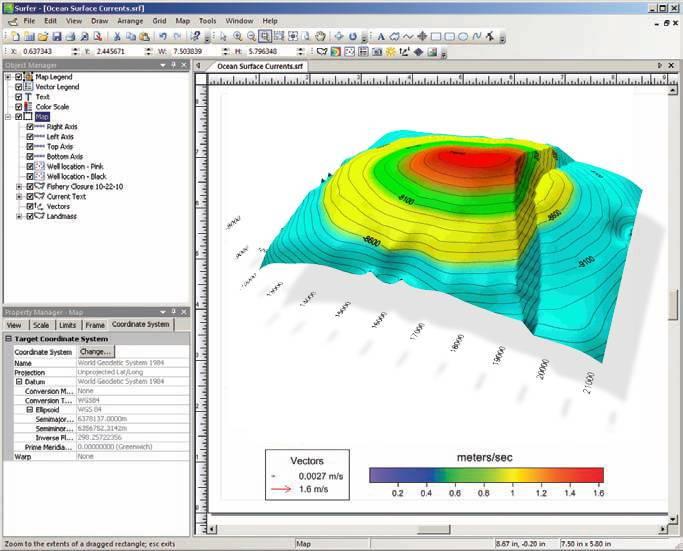 Golden Software Surfer 16.6 free download full version for Windows PC