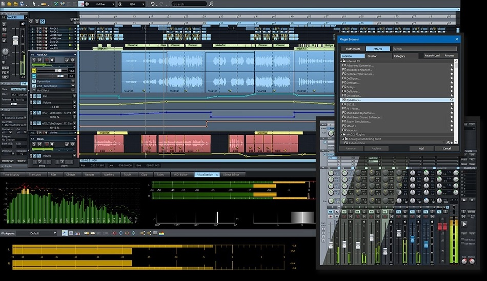 MAGIX Samplitude Pro X4 Suite music studio