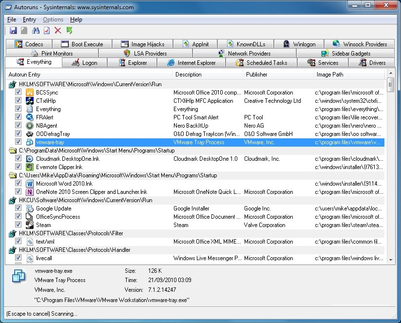 Sysinternals Suite 2019 Free Download for Windows PC