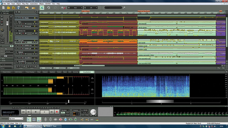free download full version MAGIX Samplitude Pro X4 Suite 15.2