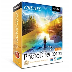CyberLink PhotoDirector Ultra 11.0 Free Download