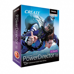 CyberLink PowerDirector Ultimate 18.0 Free Download