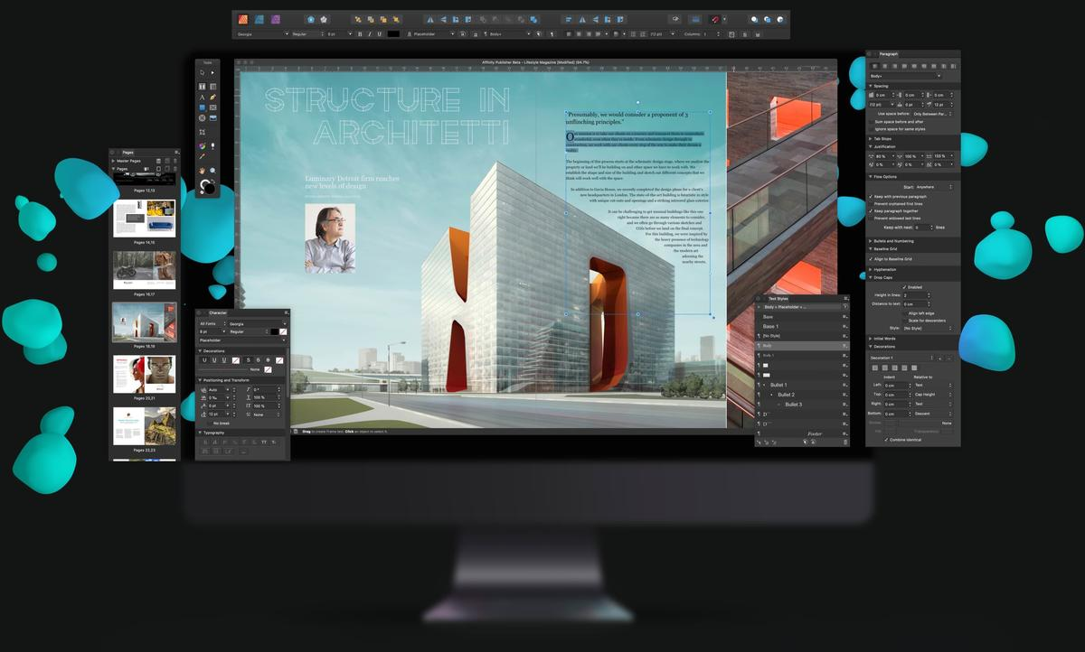 free download full version Serif Affinity Publisher 1.7
