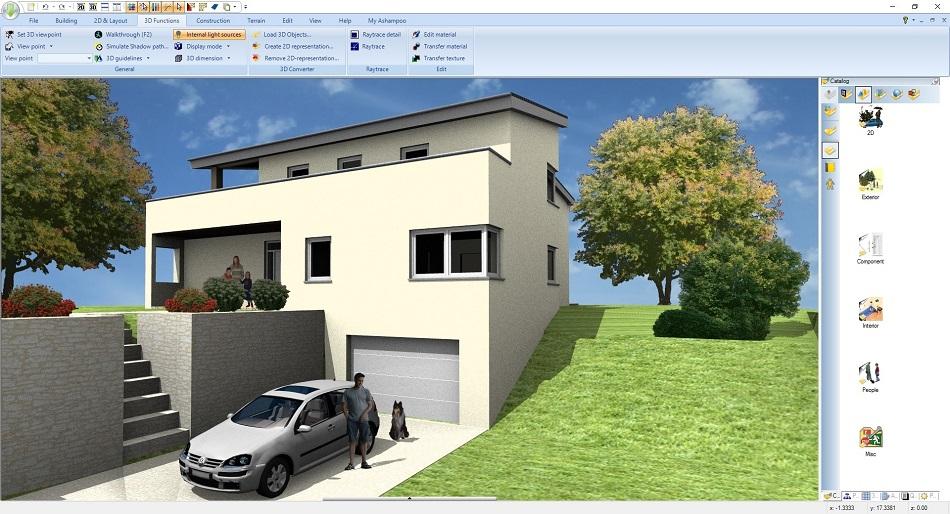 Direct Link Download Ashampoo Home Design 5