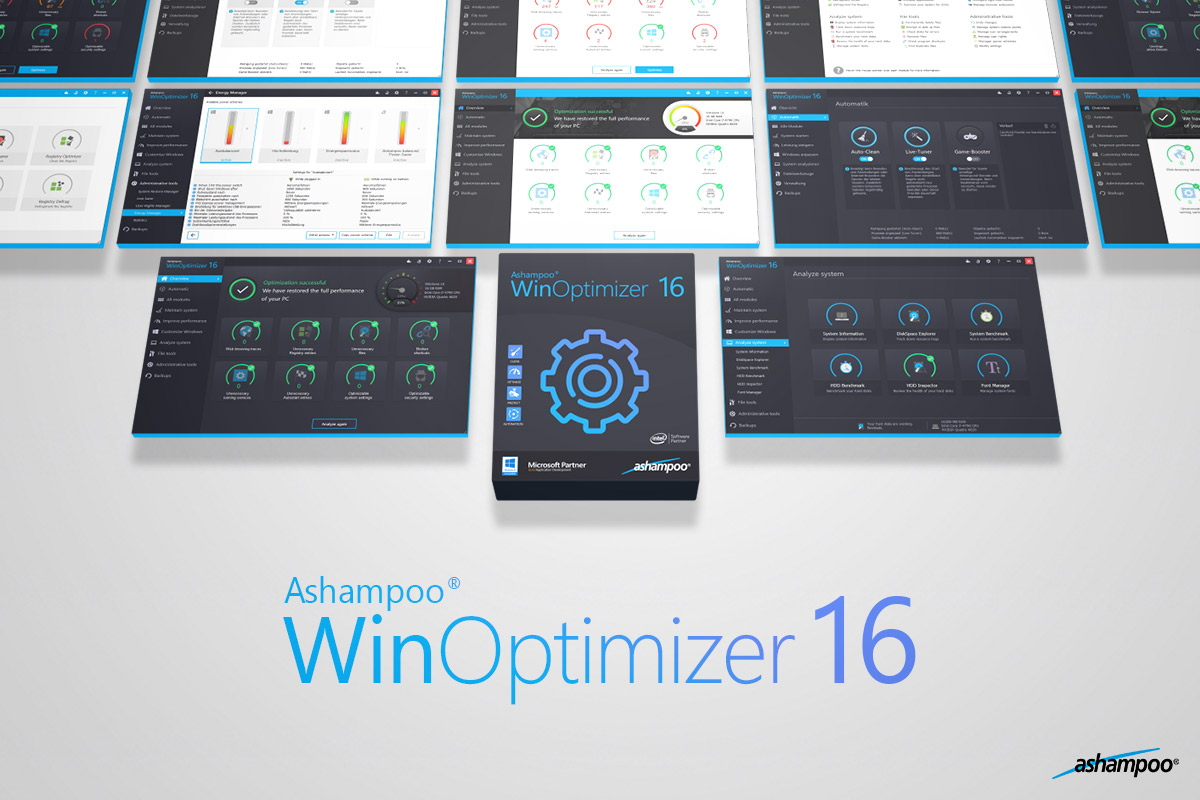 Free Download for Windows PC Ashampoo WinOptimizer 16
