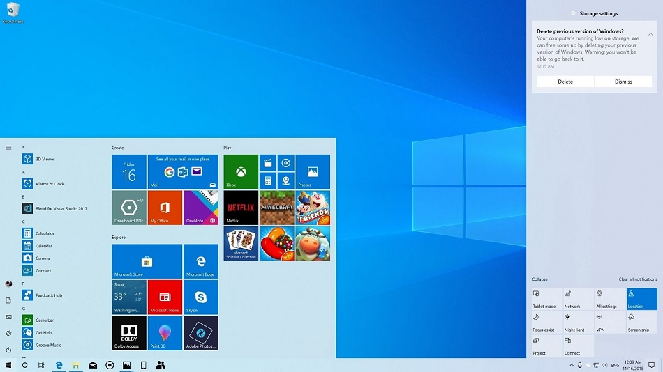 Free Download for Windows PC Windows 10 Pro 19H1 X64 September 2019