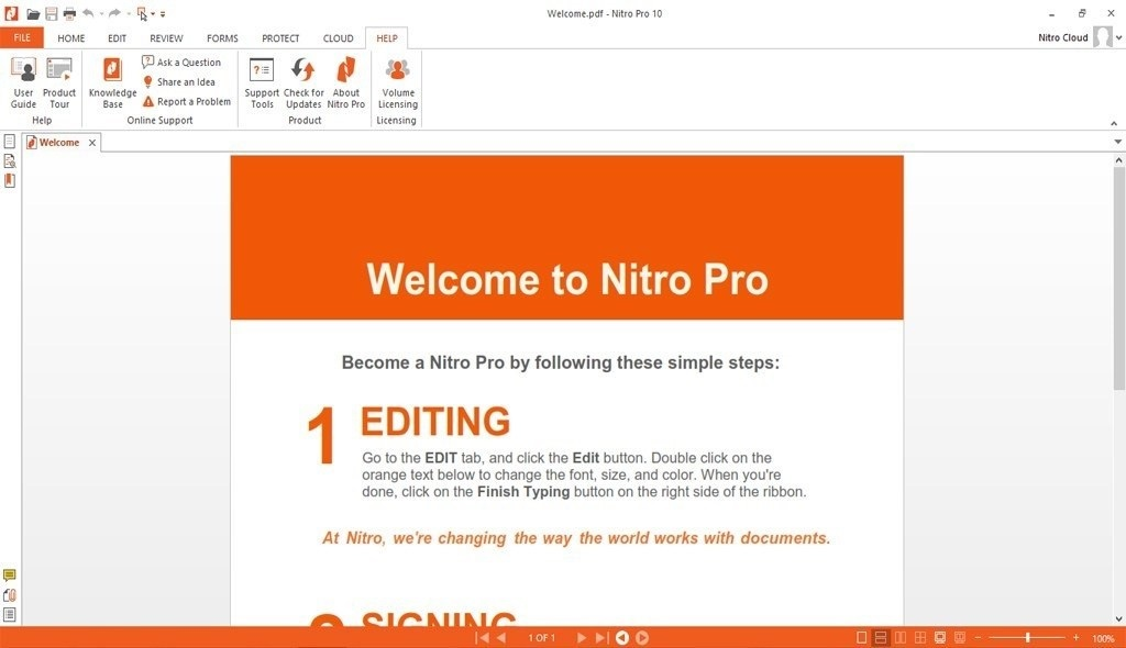 Offline Installer Download Nitro Pro 13.2