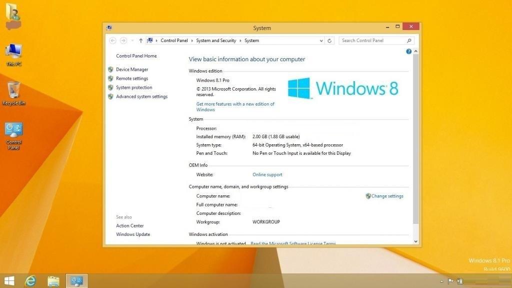 Offline Installer Download Windows 8.1 Pro X64 OEM ESD September 2019